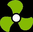 Ik ventileer verstandig Logo